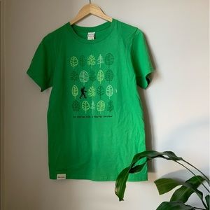 Other - NWT - Men - Organic Cotton T-Shirt - Mont Mégantic